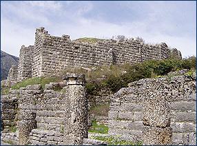 Der Bouleuterion im Orakelheiligtum von Dodona