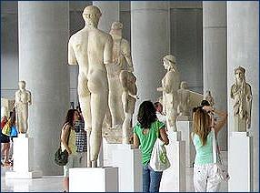Zu den meistbesuchten Sehenswürdigkeiten auf dem griechischen Festland gehört der Parthenon